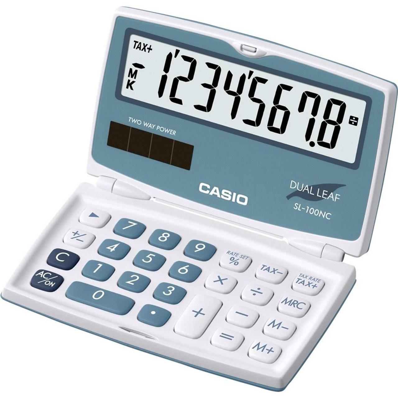 قیمت                      ماشین حساب کاسیو مدل SL-100NC