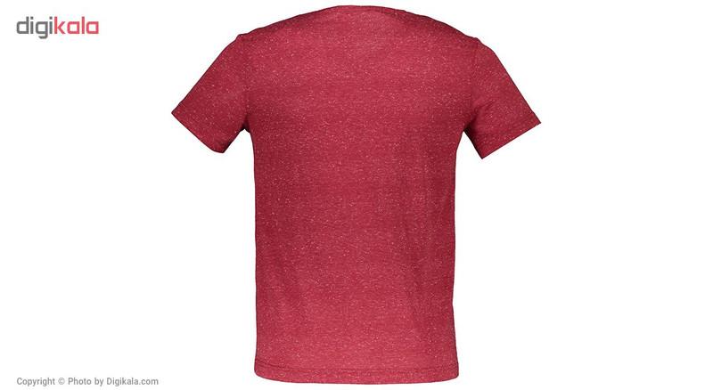 تی شرت مردانه بیلسی مدل TB18MF07S4020-1-BORDO