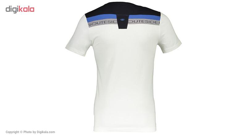 تی شرت مردانه بیلسی مدل 61M9516-SP-BEYAZ