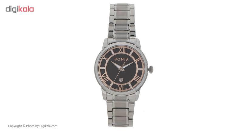 ساعت مچی عقربه ای زنانه بونیا مدل BNB10149-2343S