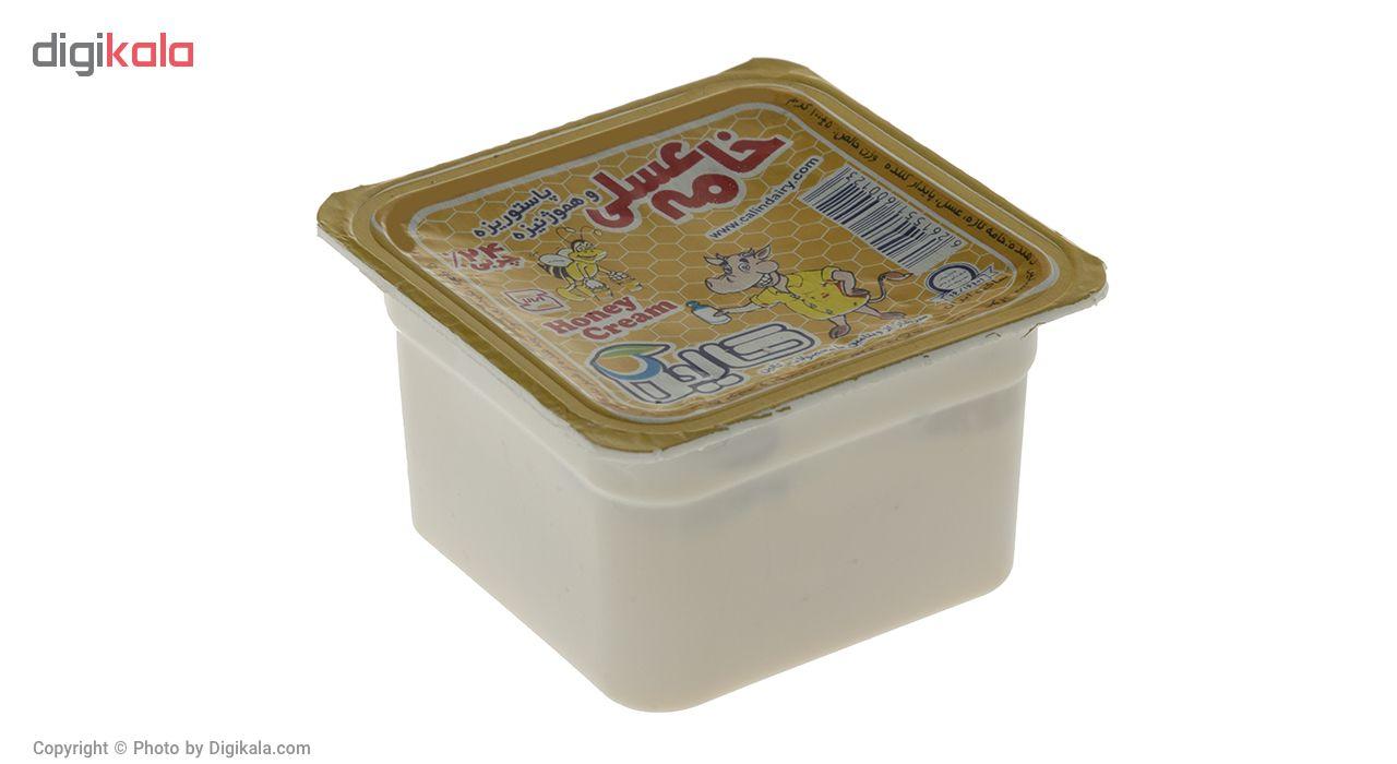 خامه عسلی کالین مقدار 100 گرم