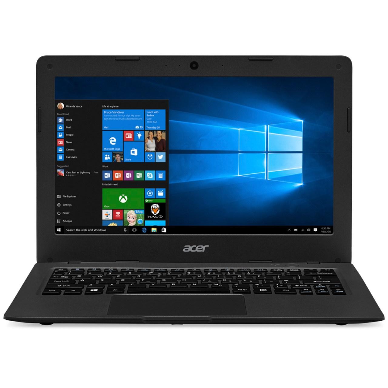 لپ تاپ 11 اینچی ایسر مدل Aspire One Cloudbook 11 - A