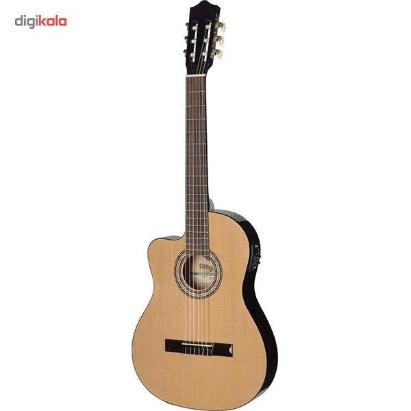 گیتار کلاسیک استگ مدل C546TCE-LH N