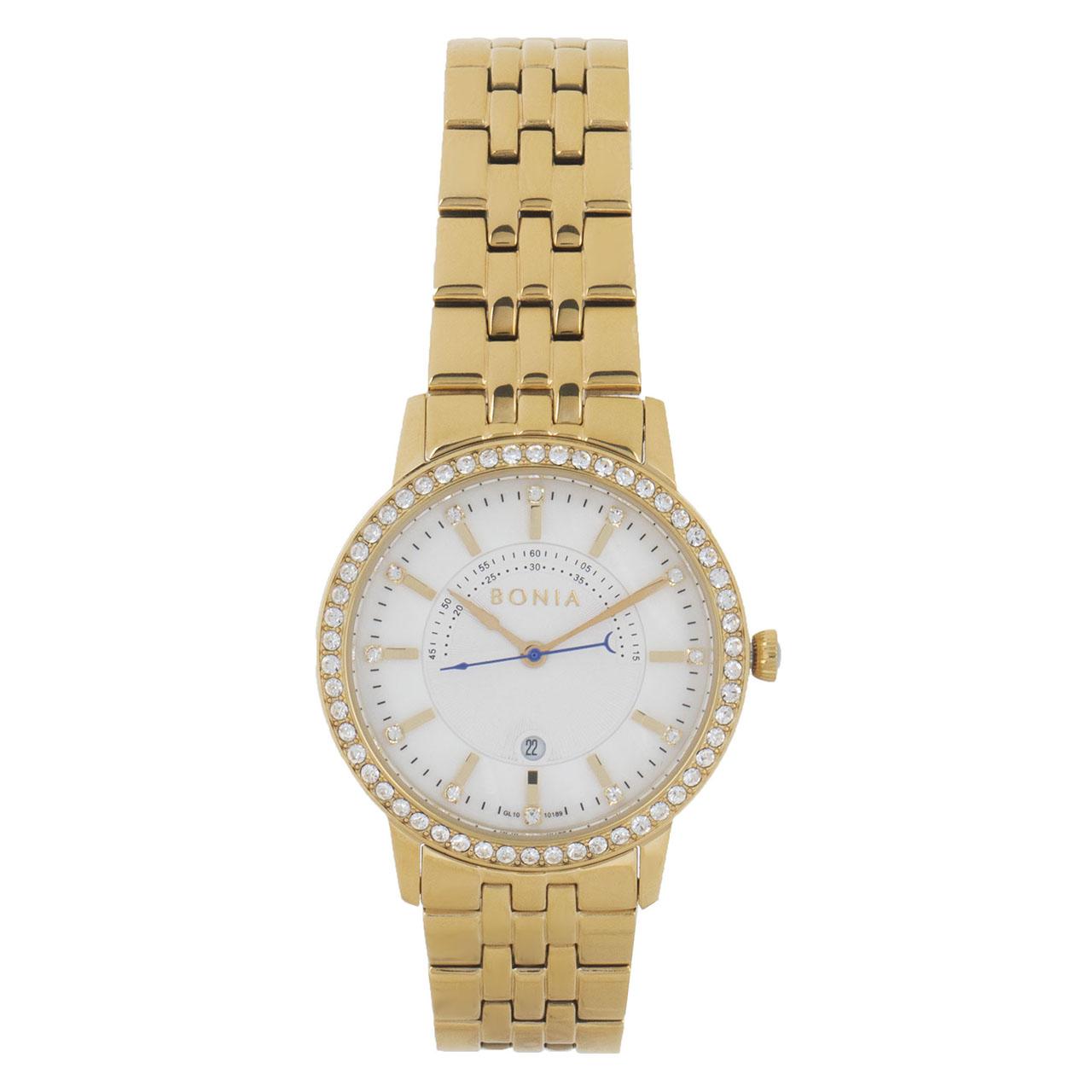 ساعت مچی عقربه ای زنانه بونیا مدل BNB10189-2252S
