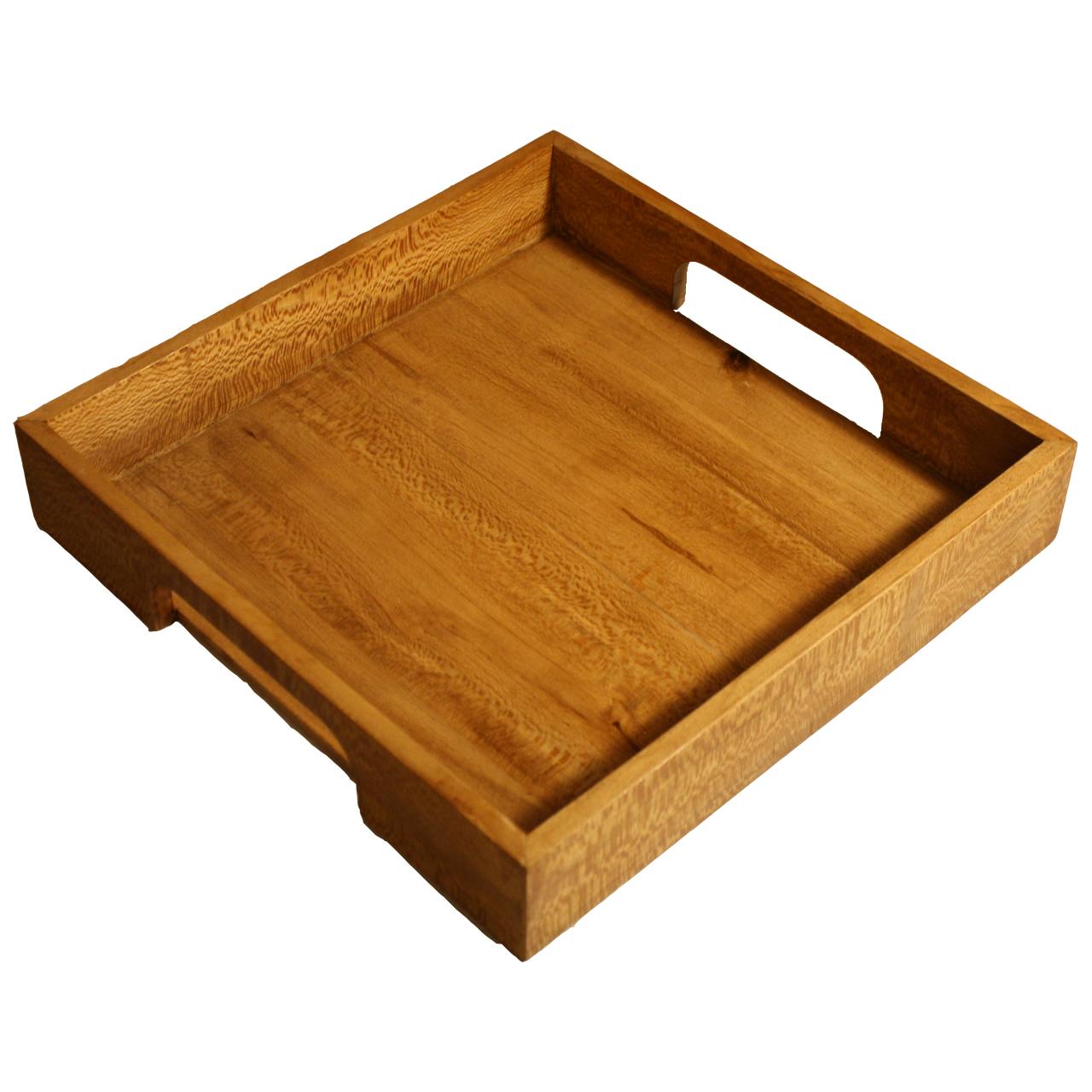 سینی چوبی مربع WB مدل Classic