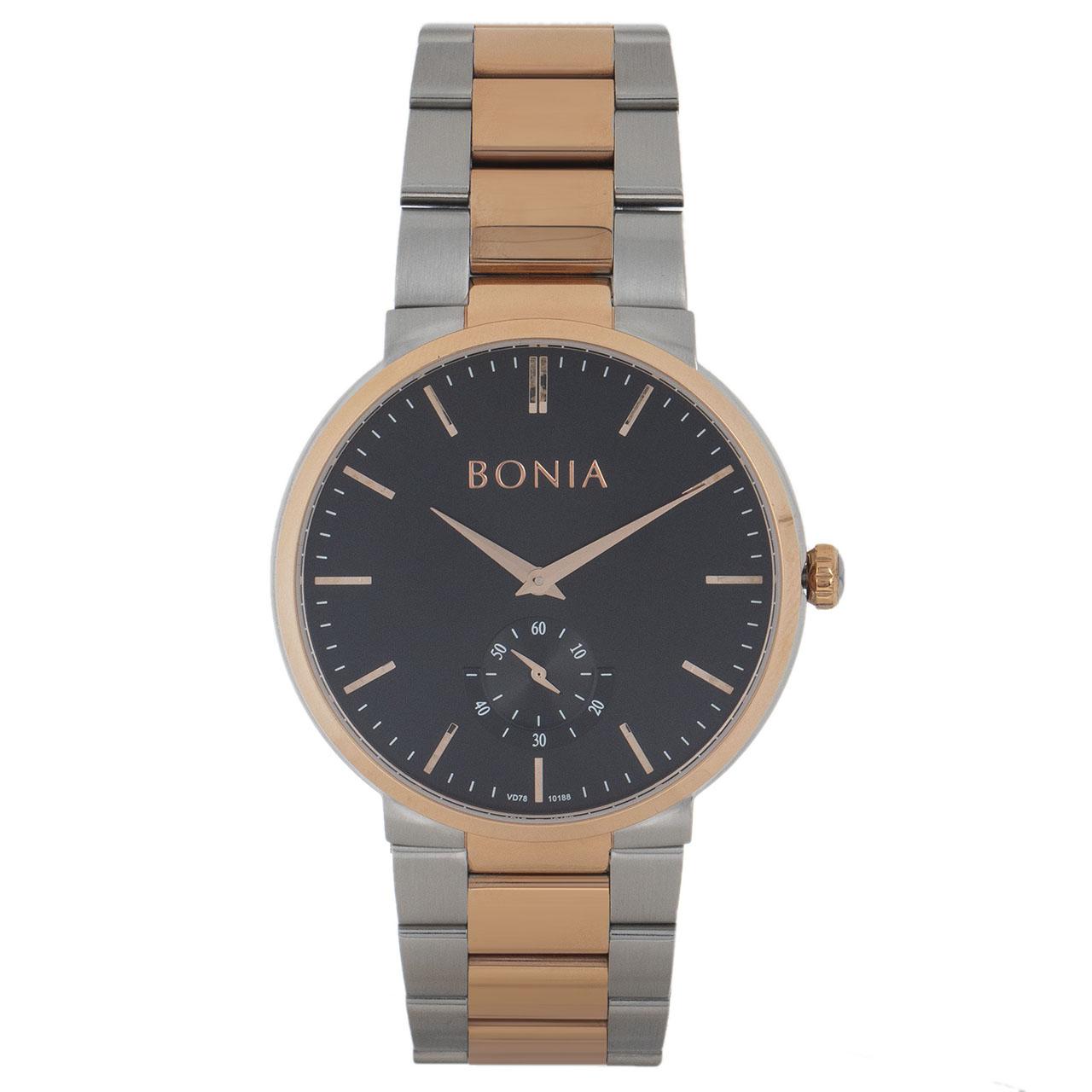 قیمت                      ساعت مچی عقربه ای مردانه بونیا مدل BNB10188-1632S