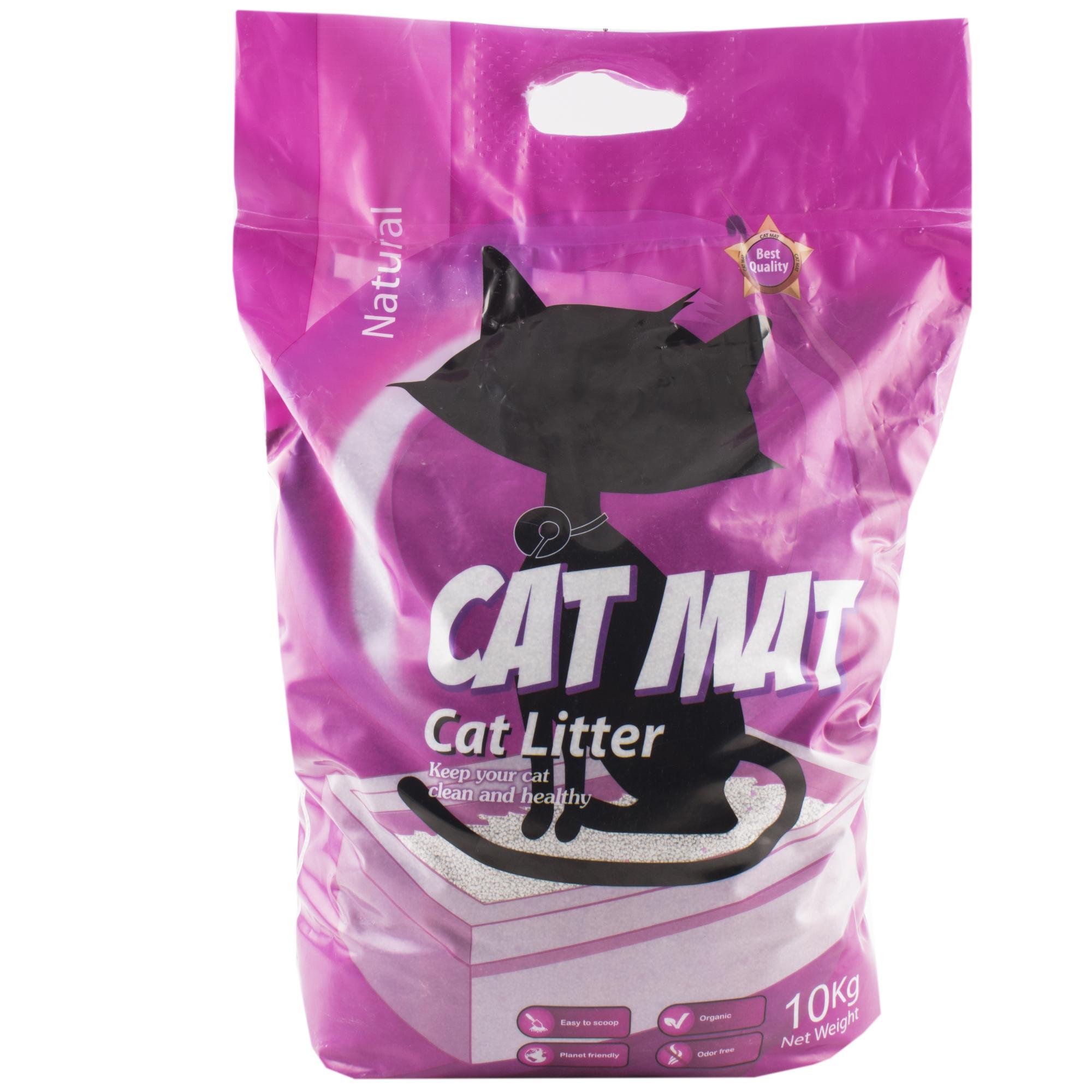 خاک بستر گربه کت مت مدل M-VATE202 وزن 10 کیلوگرم
