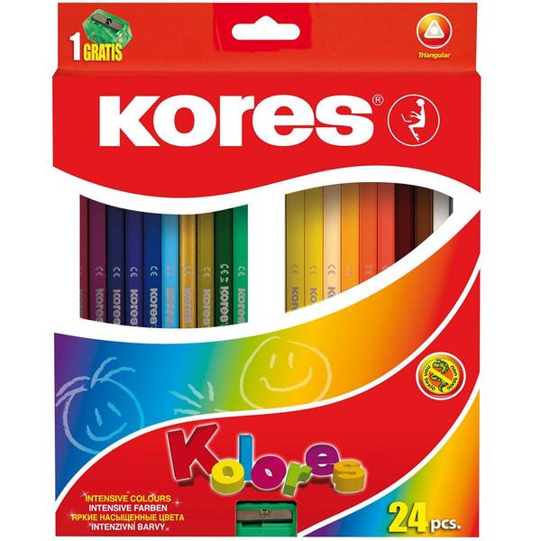 مداد رنگی 24 رنگ کورس مدل Kolores
