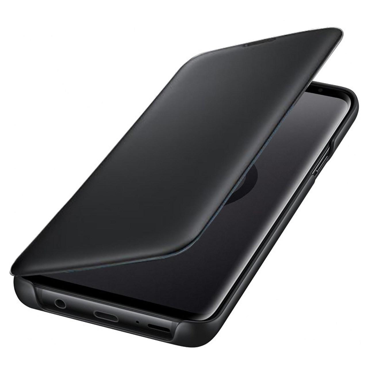 کیف کلاسوری مدل Clear Cover مناسب برای گوشی موبایل  سامسونگ Galaxy S9 Plus