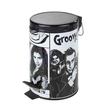 سطل زباله پدالی ونکو مدل Groovy گنجایش 3 لیتر