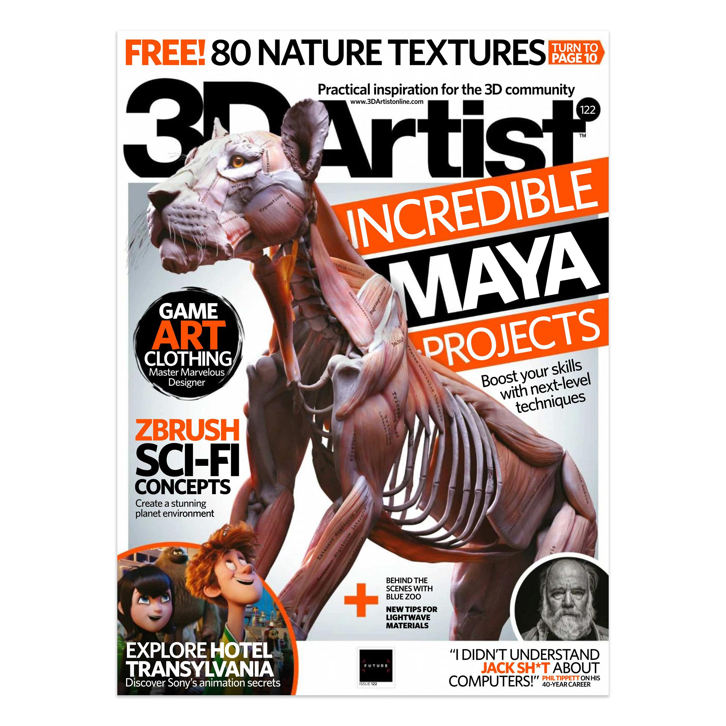 مجله تری دی آرتیست دسامبر 2018 شماره 122
