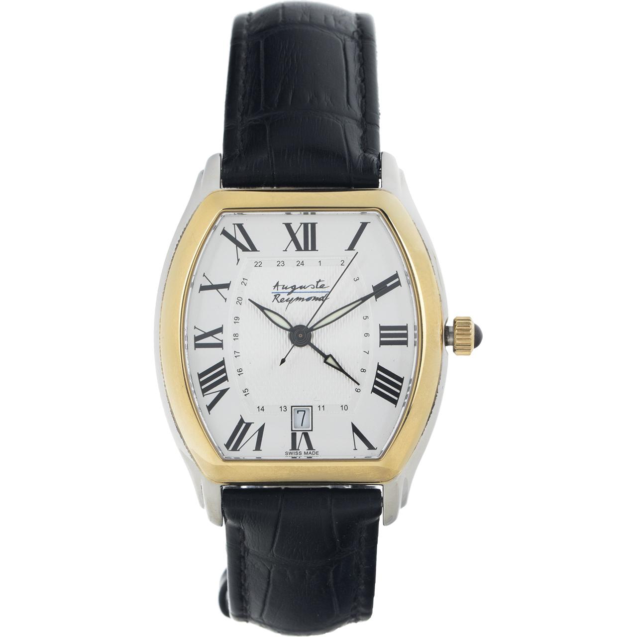 ساعت مچی عقربه ای مردانه آگوست ریموند مدل M-69B230-20A