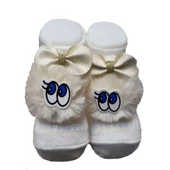 جوراب نوزادی مینی داملا مدل 020