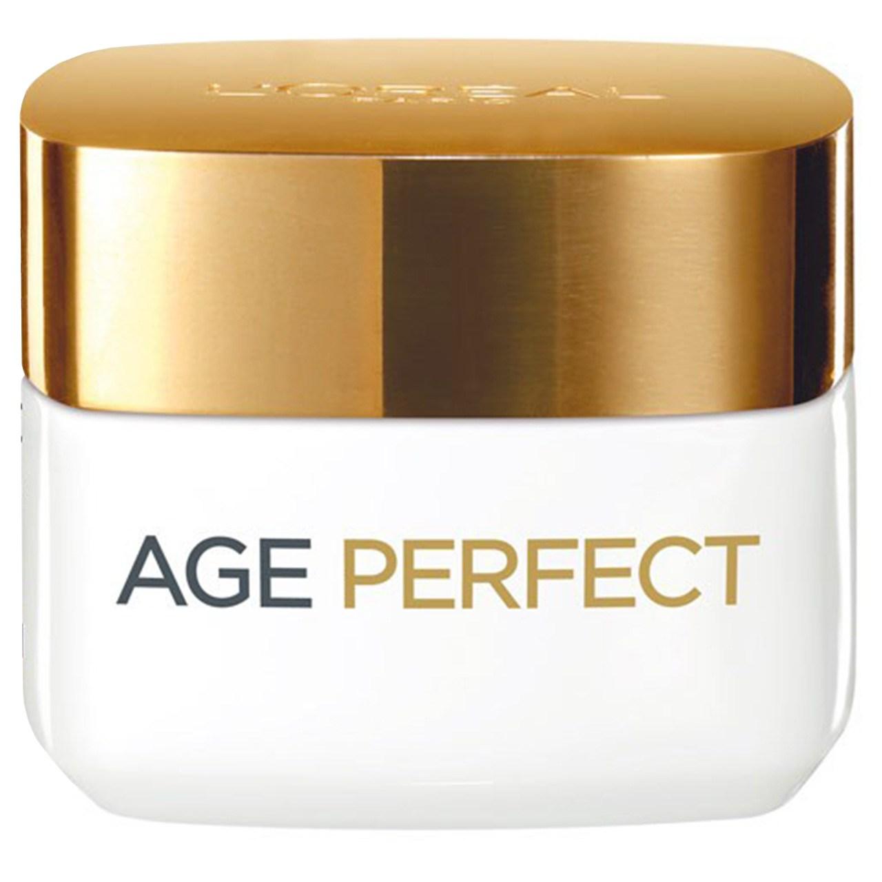 قیمت کرم مرطوب کننده و روشن کننده روز لورآل مدل Age Perfect حجم 50 میلی لیتر