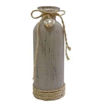 گلدان فانتزی خانه سفید طرح بطری کد 15
