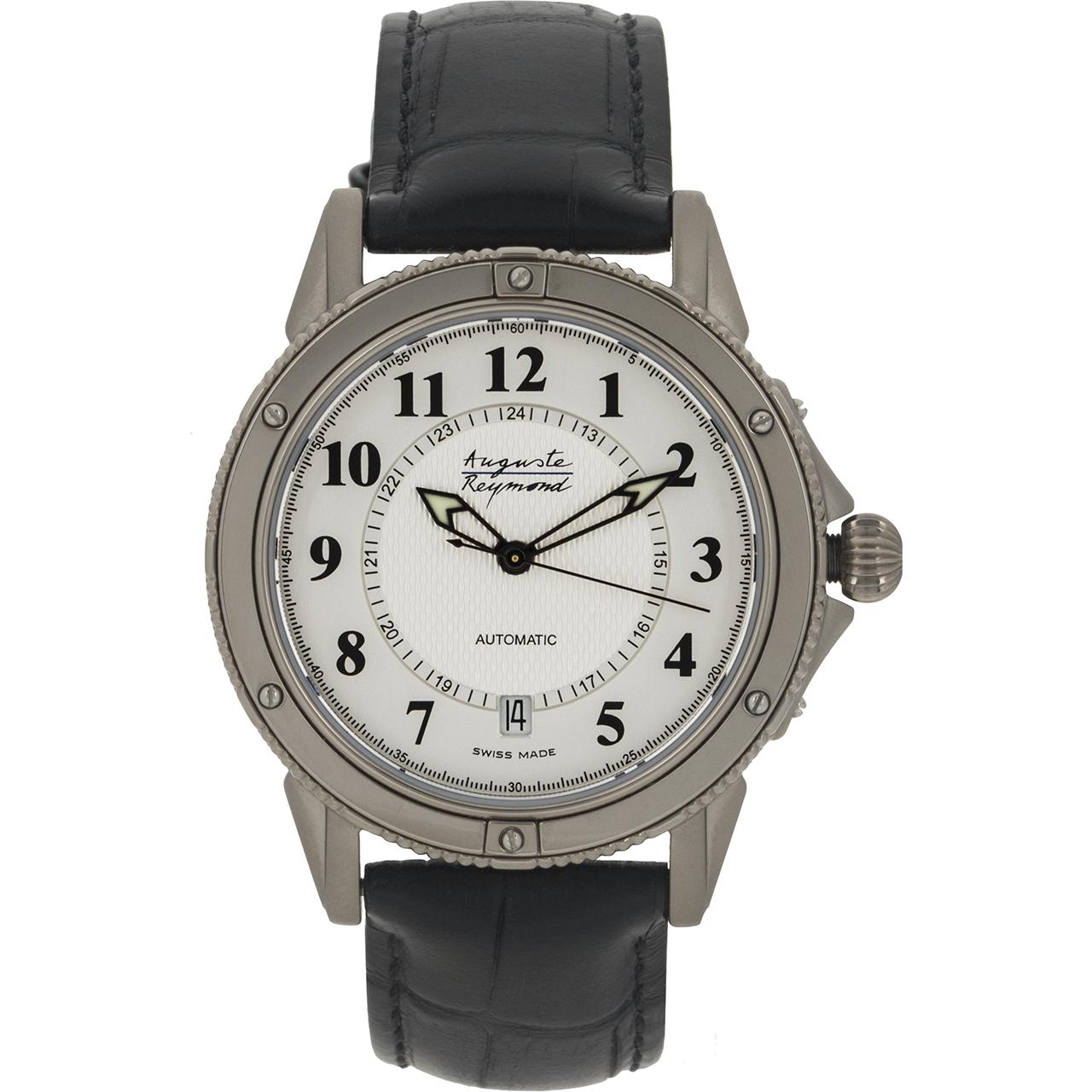 ساعت مچی عقربه ای مردانه آگوست ریموند مدل M-89B700-54C