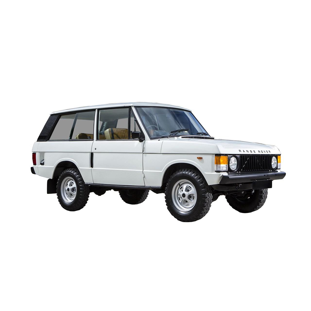 خودرو لندروور رنجرور دنده ای سال 1975