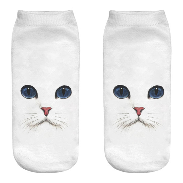 جوراب زنانه طرح گربه کد M276