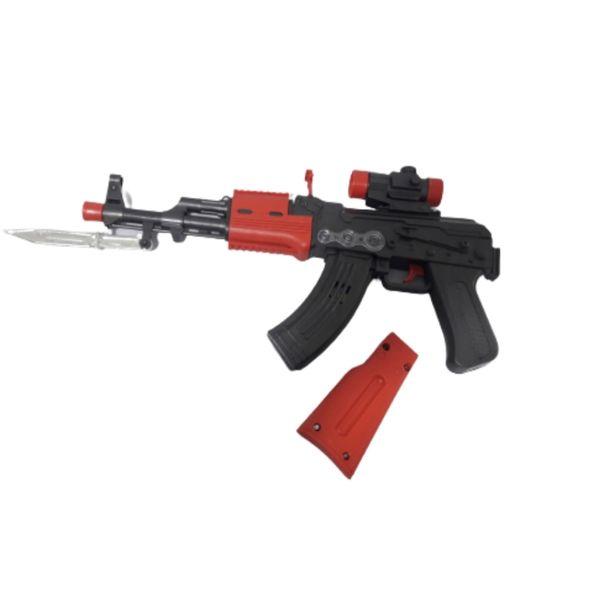 تفنگ بازی مدل مسلسل دوربین دار کد BKH18