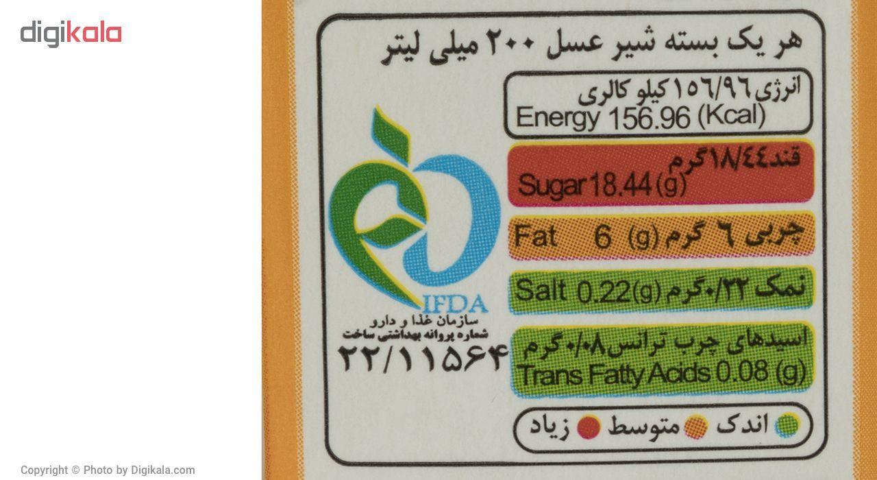 شیر عسل دومینو مقدار 0.2 لیتر  بسته 6 عددی main 1 3