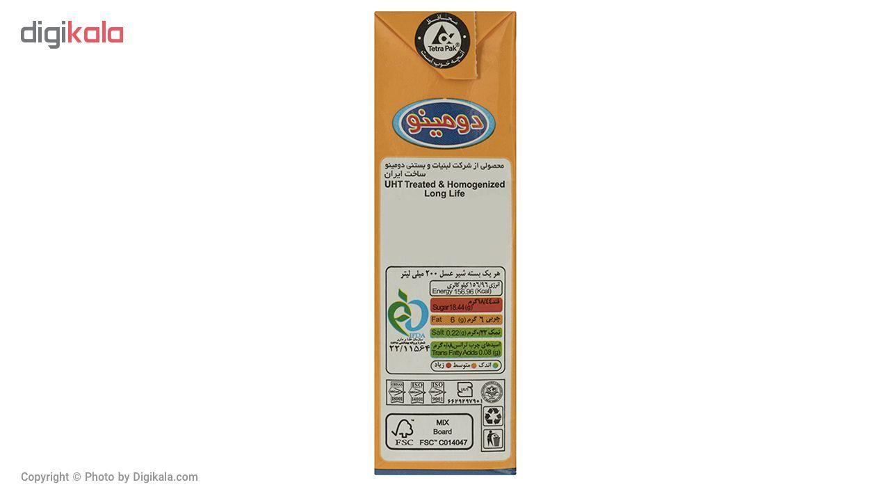 شیر عسل دومینو مقدار 0.2 لیتر  بسته 6 عددی main 1 2