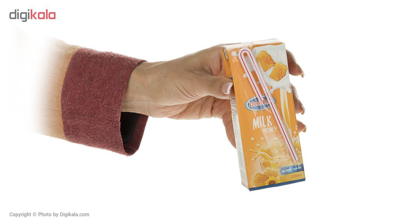 شیر عسل دومینو مقدار 0.2 لیتر  بسته 6 عددی
