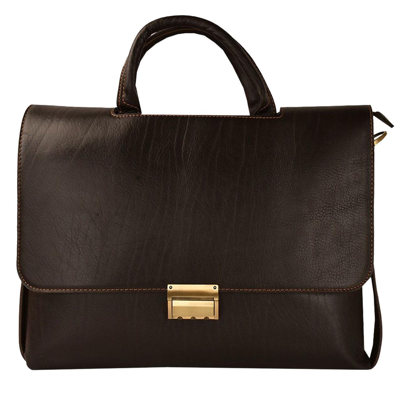 کیف اداری چرم کهن چرم مدل L101-15