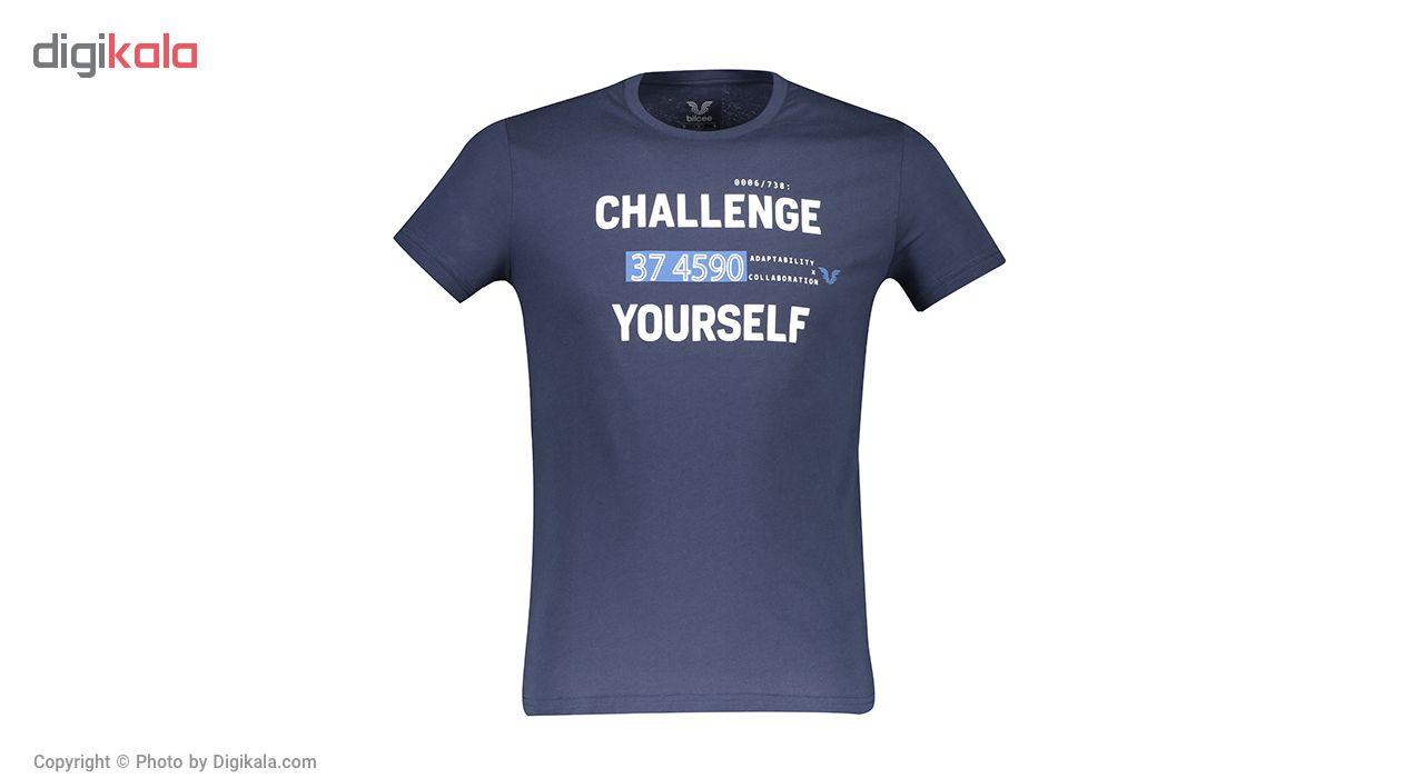 تی شرت مردانه بیلسی مدل TB18MR07S3827-1-NAVY