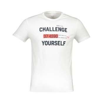 تی شرت مردانه بیلسی مدل TB18MR07S3827-1-BEYAZ