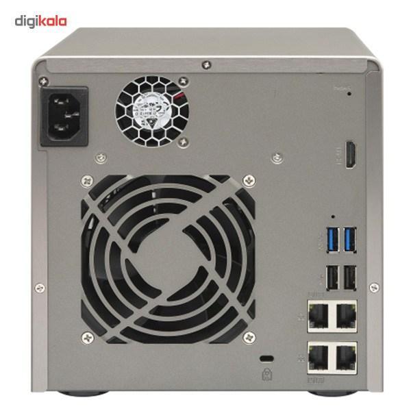 ذخیره ساز تحت شبکه کیونپ مدل TS-453-Pro-8G بدون هارددیسک