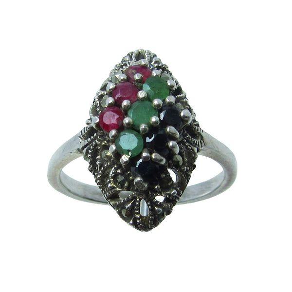 انگشتر نقره زنانه کد OP154