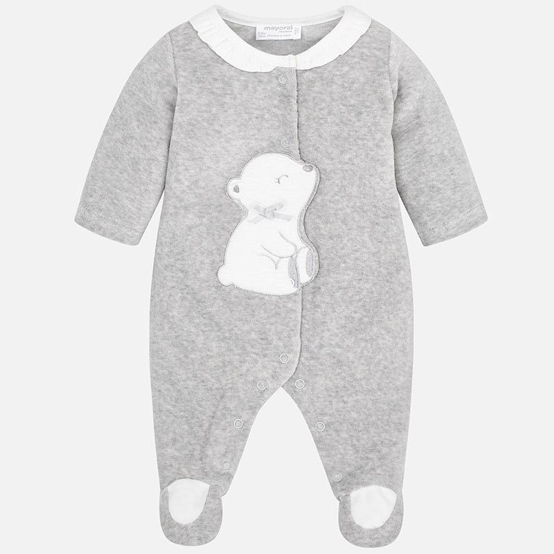 سرهمی جورابدار نوزادی پسرانه مایورال مدل MY02752-10