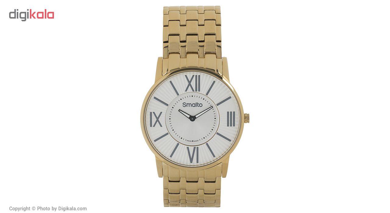 ساعت مچی عقربه ای مردانه اسمالتو مدل ST1G106M0061