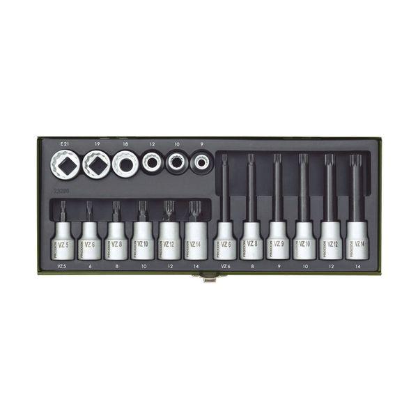 مجموعه 18 عددی سری پیچ گوشتی پروکسون مدل 23296