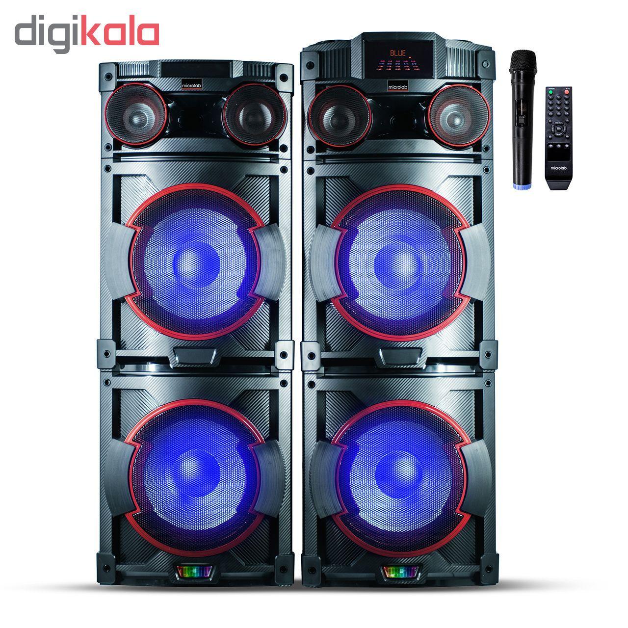 پخش کننده خانگی میکرولب مدل DJ-1202 main 1 1