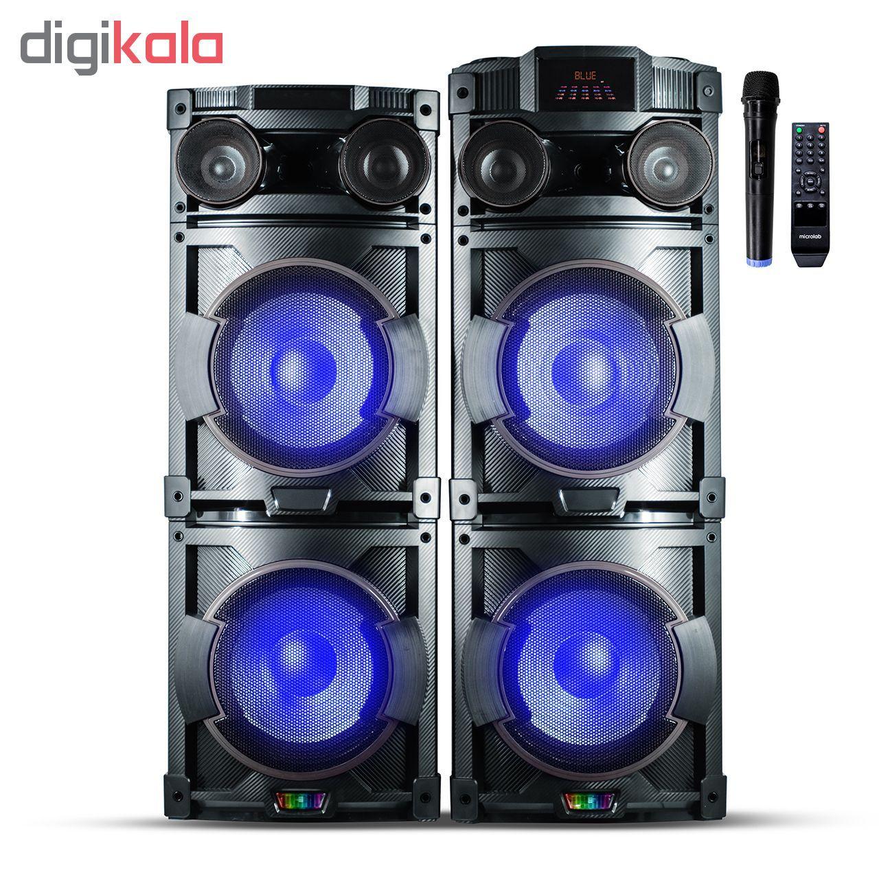 پخش کننده خانگی میکرولب مدل DJ-1202 main 1 2