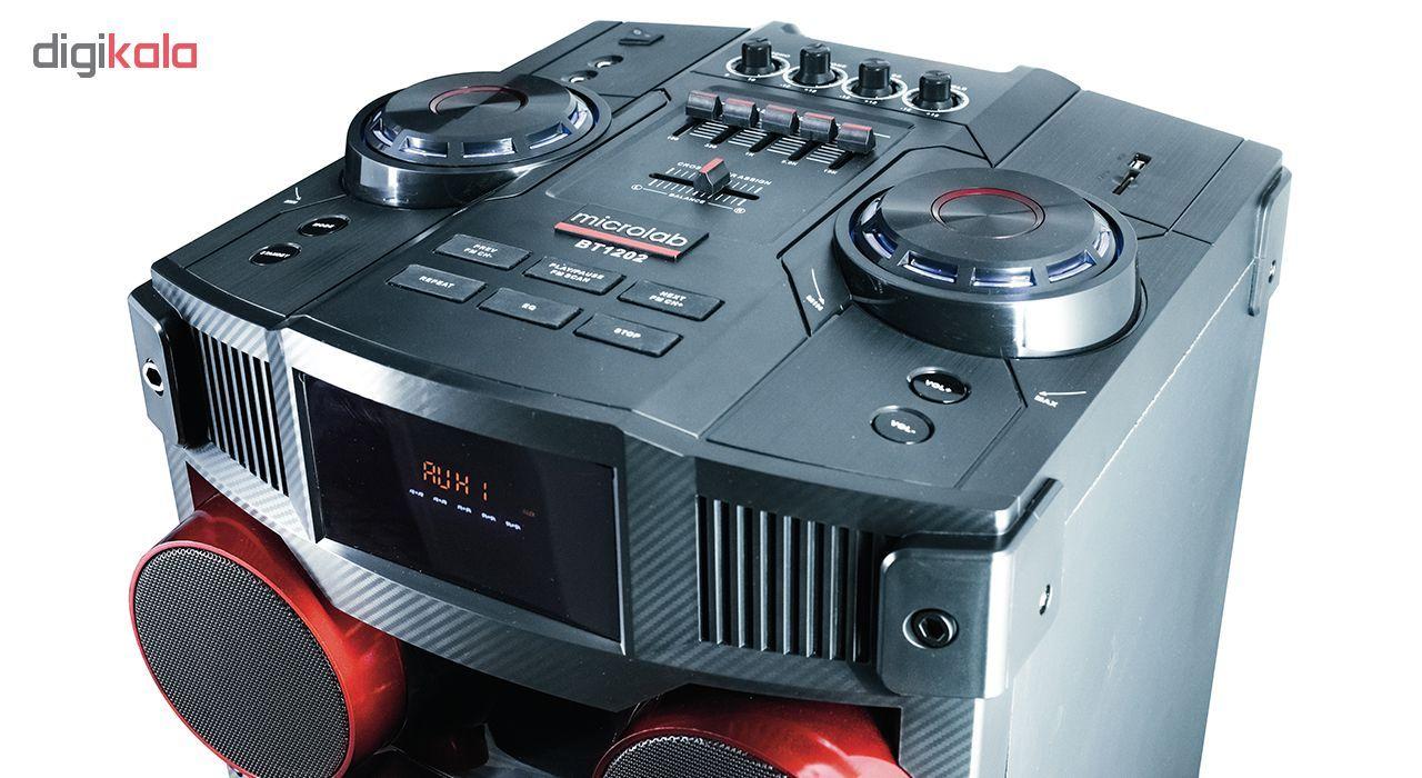 پخش کننده خانگی میکرولب مدل DJ-1202 main 1 4