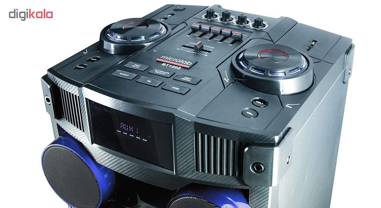 پخش کننده خانگی میکرولب مدل DJ-1202 main 1 5