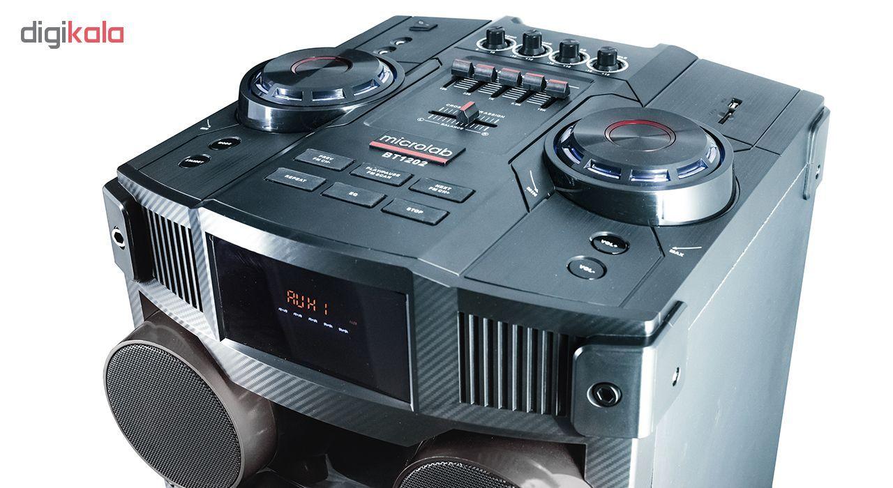 پخش کننده خانگی میکرولب مدل DJ-1202 main 1 6