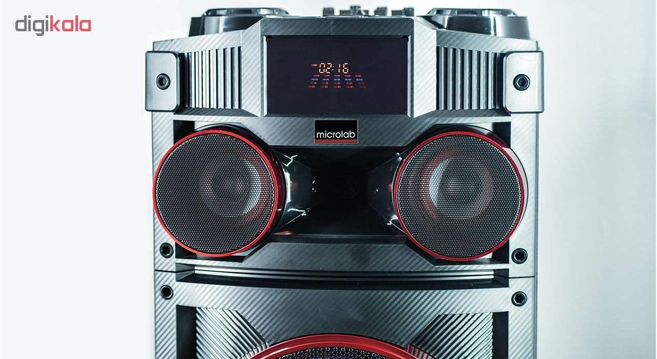 پخش کننده خانگی میکرولب مدل DJ-1202 main 1 7