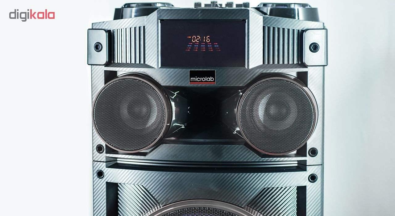 پخش کننده خانگی میکرولب مدل DJ-1202 main 1 8