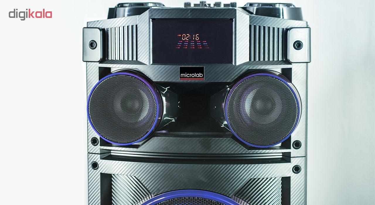 پخش کننده خانگی میکرولب مدل DJ-1202 main 1 9