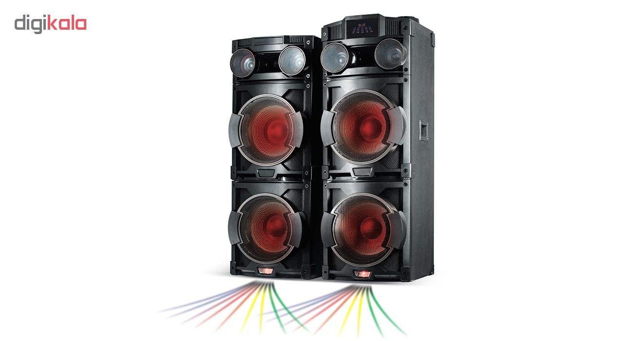 پخش کننده خانگی میکرولب مدل DJ-1202 main 1 11