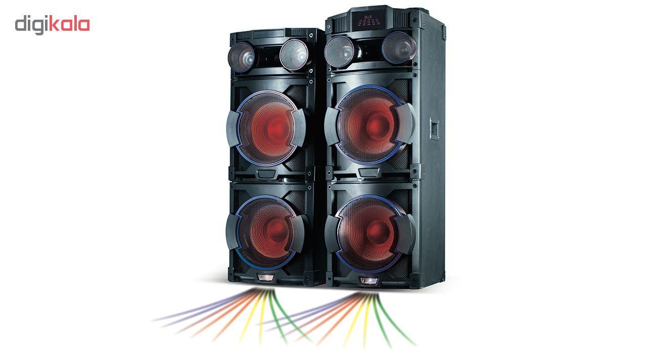 پخش کننده خانگی میکرولب مدل DJ-1202 main 1 12