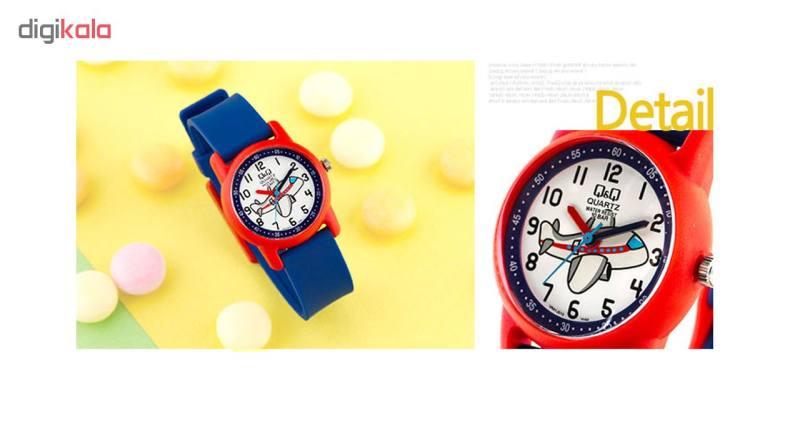 ساعت مچی عقربه ای بچگانه کیو اند کیو مدل VR41J010Y