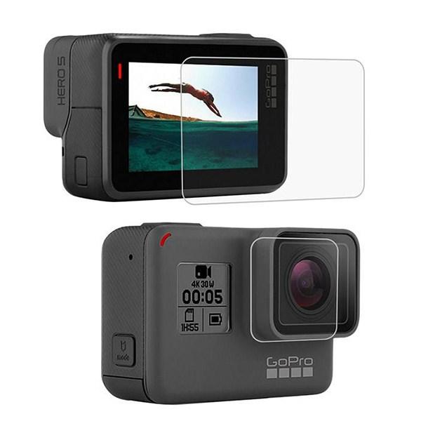 محافظ صفحه نمایش و لنز  مدل GP77 مناسب برای دوربین های ورزشی گوپرو Hero 5/6/7