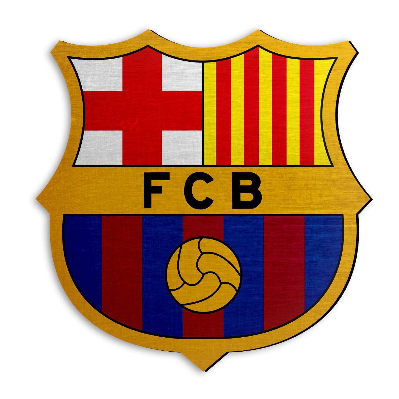 استیکر چوبی دکوماس طرح بارسلونا کد Barcelona DMS-WS101
