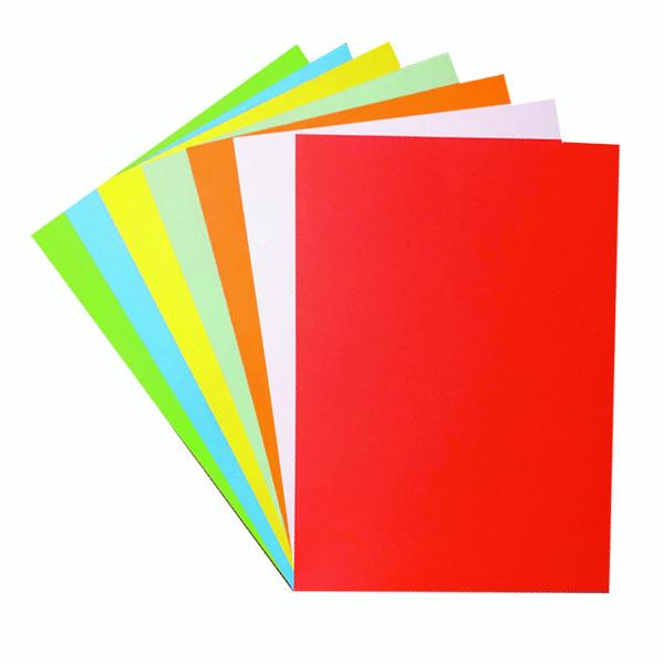 مقوا رنگی A4 مدل 014 بسته 14 عددی