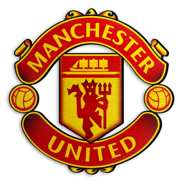 استیکر چوبی دکوماس طرح منچستر یونایتد کد Manchester United DMS-WS103