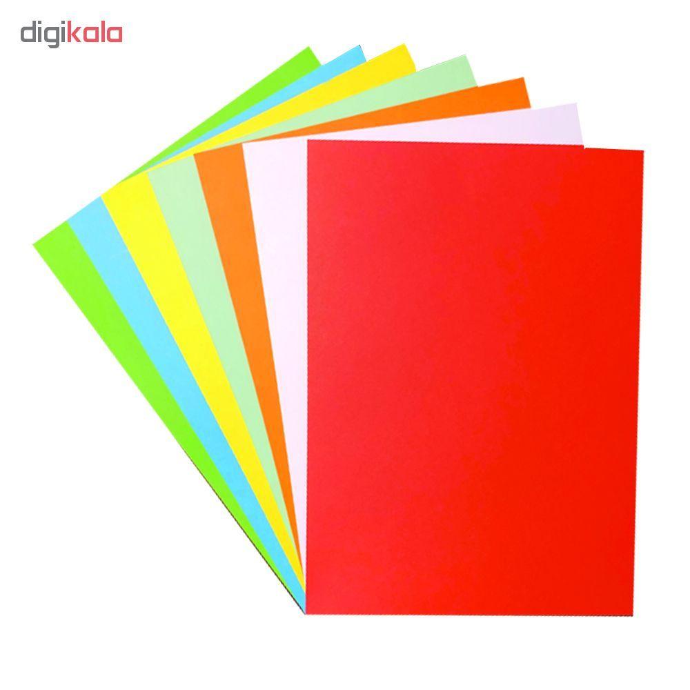 مقوا رنگی A4 مدل 014 بسته 14 عددی main 1 1